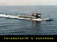 Photo:Type 092 Nuclear-Powered Missile Submarine